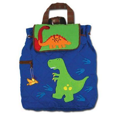 Children's Blue Dinosaur Backpack