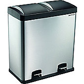 Charles Bentley 60L Recycle Bin With 2 Compartments