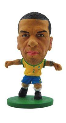 Soccerstarz - Brazil Dani Alves - Home Kit