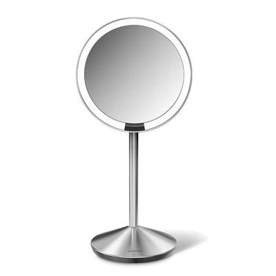 Simplehuman Sensor Mirror Tru-Lux Light System x10 Magnification 12cm ST3004
