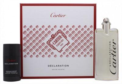 Cartier Declaration Gift Set 100ml EDT + 75ml Deodorant Stick For Men