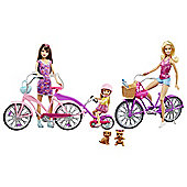 Barbie Camping Fun Spin and Ride Family set