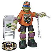 Teenage Mutant Ninja Turtles WWE Action Figure Leonardo As John Cena