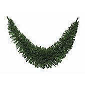 Natural Artificial Christmas Garland, 9ft