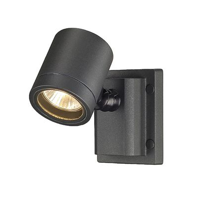 Myra Wall Light Anthracite Max. 50W Adjustable Lamp Head