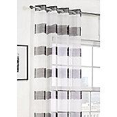 Hamilton McBride Miami Voile Eyelet Panel - Grey