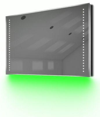 Bathroom Shaver Mirror with UnderLighting, Bluetooth, Demist & Sensor k61sGaud