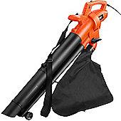 VonHaus 2800W Electric Garden Leaf Vacuum