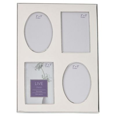Tesco Silver Plated 4 Aperture