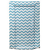 East Coast Chevron Changing Mat (Turquoise)