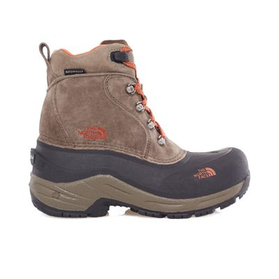 The North Face Boys Chilkat Lace Boot Mud Pack Brown 1