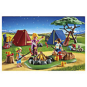Playmobil 6888 - Camp Site with LED Fire