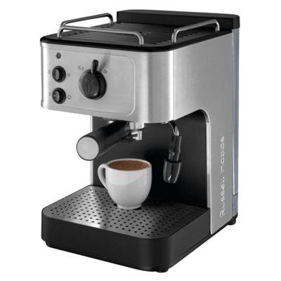 Russell Hobbs 18623 Espresso Coffee Machine - Stainless Steel & Black