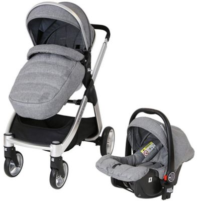iSafe Marvel Limited Edition Travel System (Dove Grey)