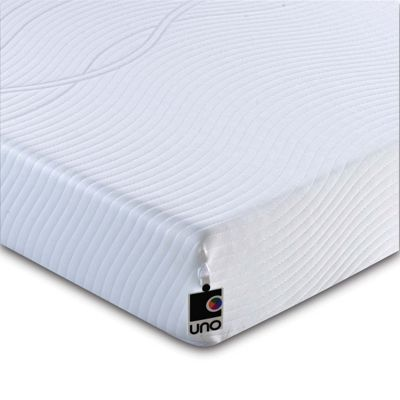 Breasley UNO Revive HD Memory Foam Mattress with Removable Cover - Single