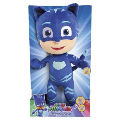 PJ Masks Sing And Talk Cat Boy Soft Toy