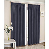 Enhanced Living Galaxy Pencil Pleat Curtains - Blue
