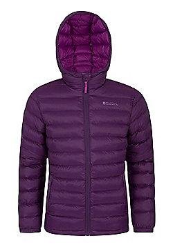 Mountain Warehouse Seasons Girls Padded Jacket - Purple