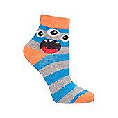 Mountain Warehouse Monster Kids Socks - 5 Pack - Green
