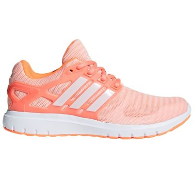 adidas Energy Cloud 2 Womens Neutral Running Trainer Shoe Orange - UK 8