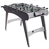 Strikeworth Defender 4ft Football Table (Black/Silver)