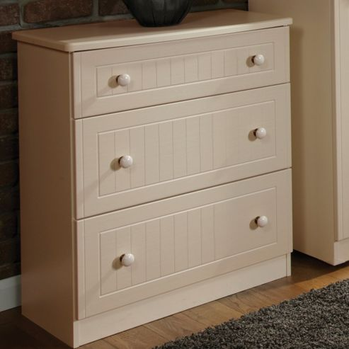 Welcome Furniture Coniston 4 Drawer Chest - Cream