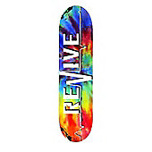ReVive Lifeline Skateboard Deck - Tie Dye 7.75""