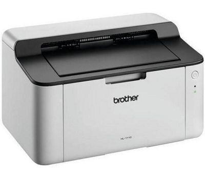 Brother HL-1110 Mono Laser A4 Compact Printer 20ppm 2400x600 Resolution USB