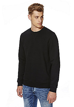 F&F Sweatshirt with As New Technology - Black