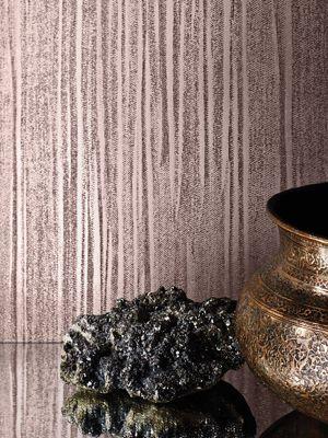 Mia Texture Metallic Wallpaper Rose Gold Muriva 701377