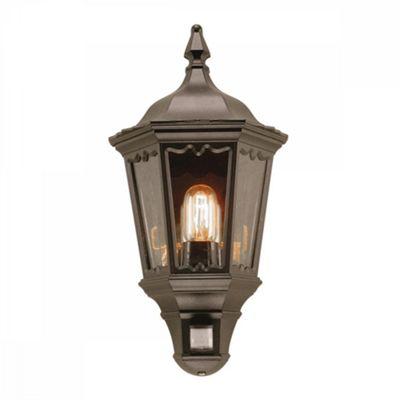 Black Lantern With Pir - 1 x 100W E27