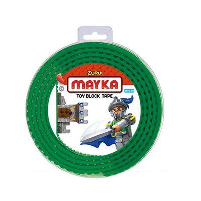 Mayka Tape - 4 Stud Dark Green 2 Metres