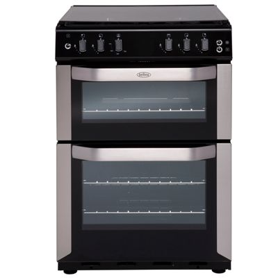 Belling FSG55TCFSTA 550mm Twin Cavity Gas Cooker FSD S/Steel