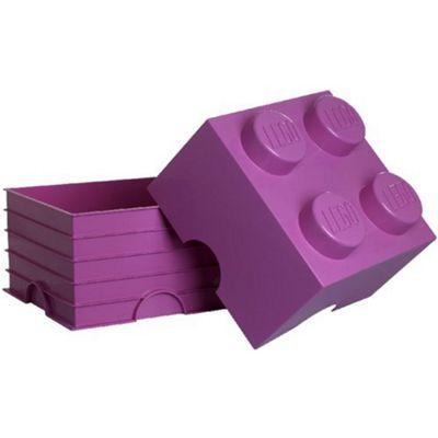 LEGO Storage Brick 4 Pink