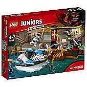 LEGO Batman Zanes Ninja Boat Pursuit 10755
