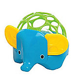 Oball Rollie Rattles Blue Elephant