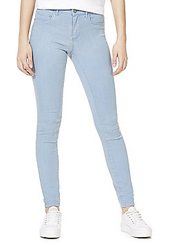 Only High Rise Skinny Jeans - Light wash