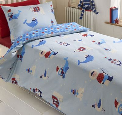 Arctic Fun King Size Bedding