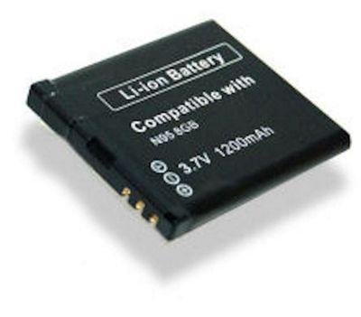 U-Bop PowerSURE Performance Battery for Nokia N95 8GB N78 N79 (BL-6F)