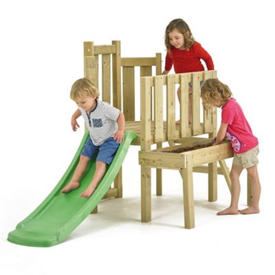 TP Forest Wooden Climbing Set & Slide