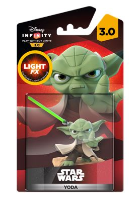 Infinity 3.0 The Force Awakens, Light-Up Yoda Figure, Tesco Exclusive