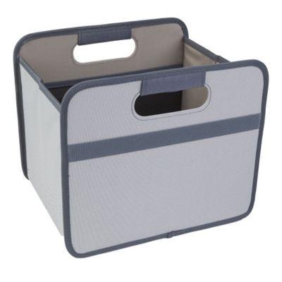 Meori Classic Collection Small Flatbox Foldable Box 15 Litre in Stone Grey