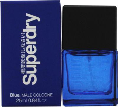 Superdry Blue Eau de Cologne 25ml Spray For Men