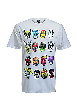 Marvel Comics Mens T-Shirt - White