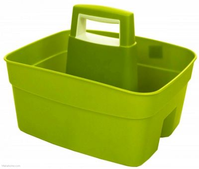 Whitefurze Kitchen Caddy, Lime Green