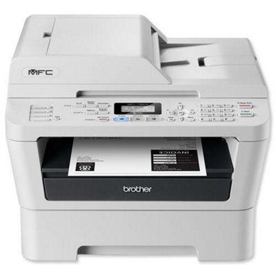 Brother MFC-7360N Laser Multifunction Printer White/Black