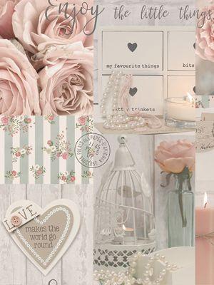 Diamond Rose Wallpaper Blush Arthouse 259900