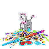 Grey Cat Pinata Kit