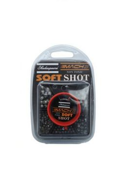 Shakespeare Fishing Super Soft Shot 7-Part Square Dispenser