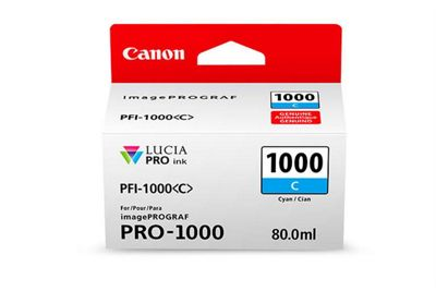 Canon Printer ink cartridge for imagePROGRAF PRO-1000 - Cyan